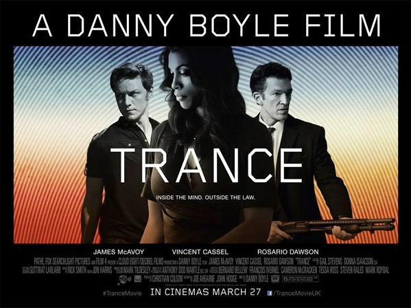 The Trance film, I: wake up and realise Boyle is messing with your mind (I)